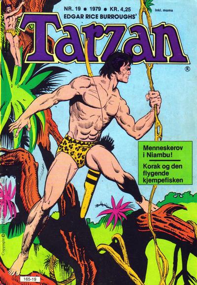 Cover for Tarzan (Atlantic Forlag, 1977 series) #19/1979