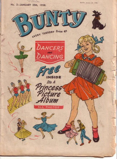 Cover for Bunty (D.C. Thomson, 1958 series) #2