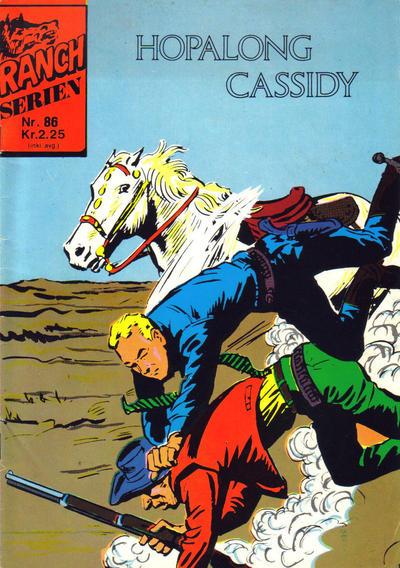 Cover for Ranchserien (Illustrerte Klassikere / Williams Forlag, 1968 series) #86