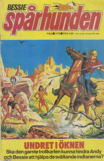Cover for Bessie (Semic, 1971 series) #4/1976