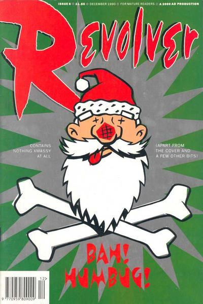Cover for Revolver (Fleetway Publications, 1991 series) #6