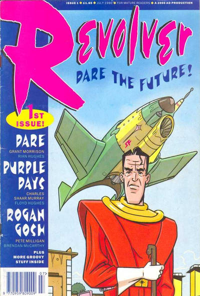Cover for Revolver (Fleetway Publications, 1991 series) #1
