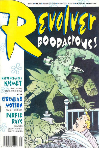 Cover for Revolver (Fleetway Publications, 1991 series) #5