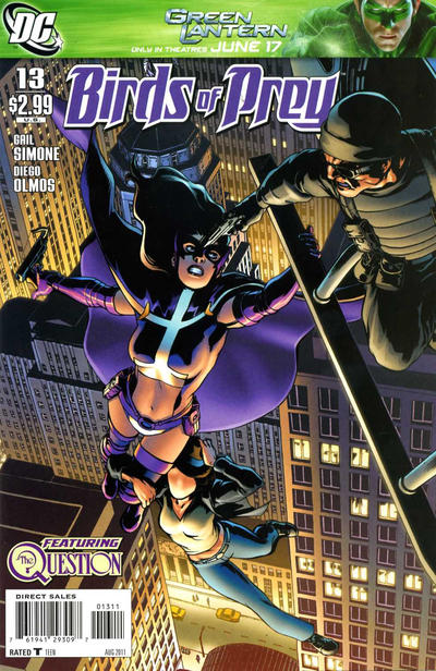 Cover for Birds of Prey (DC, 2010 series) #13