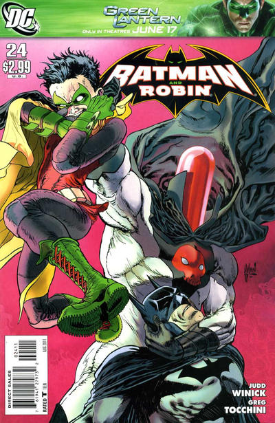 Cover for Batman and Robin (DC, 2009 series) #24 [J. G. Jones Variant Cover]
