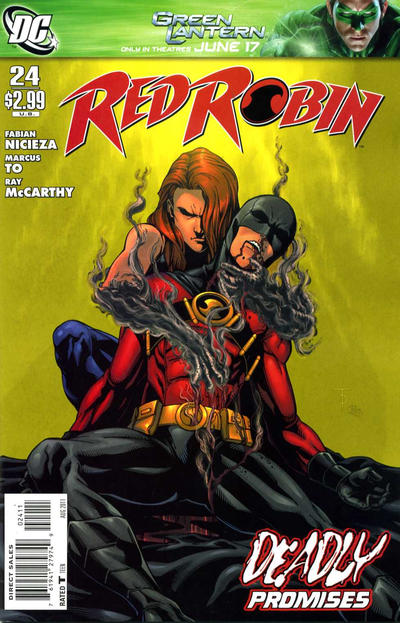 Cover for Red Robin (DC, 2009 series) #24