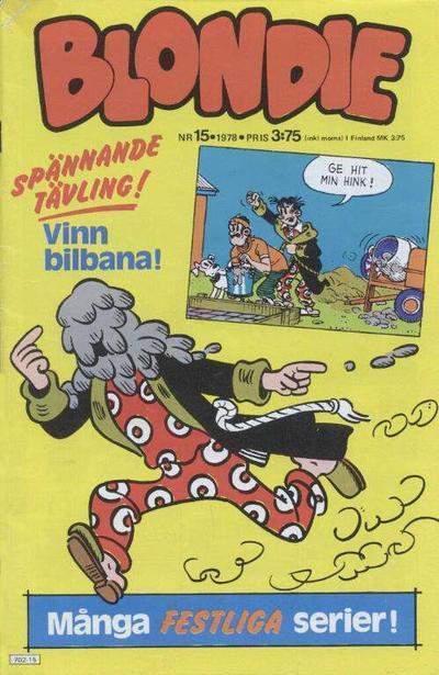 Cover for Blondie (Semic, 1963 series) #15/1978