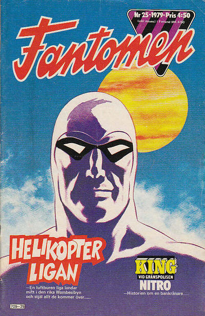 Cover for Fantomen (Semic, 1963 series) #25/1979