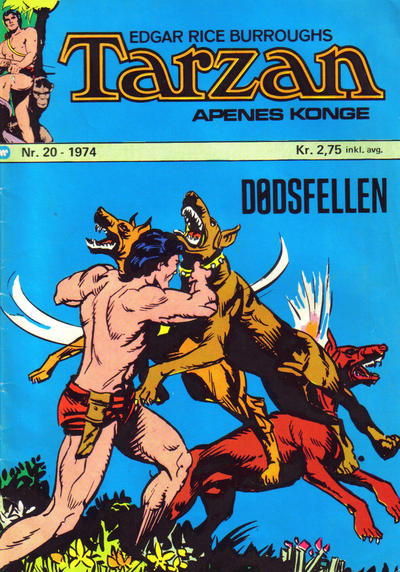 Cover for Tarzan [Jungelserien] (Illustrerte Klassikere / Williams Forlag, 1965 series) #20/1974