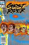 Cover Thumbnail for Ghost Rider (1990 series) #25 [Newsstand Edition]