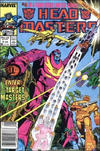 Cover for The Transformers: Headmasters (Marvel, 1987 series) #4 [Newsstand Edition]