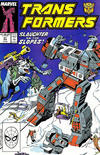 Cover for The Transformers (Marvel, 1984 series) #51 [Direct Edition]