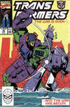 Cover for The Transformers (Marvel, 1984 series) #72 [Direct Edition]