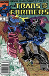 Cover for The Transformers (Marvel, 1984 series) #38 [Newsstand]