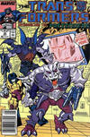 Cover for The Transformers (Marvel, 1984 series) #40 [Newsstand]