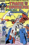 Cover for The Transformers (Marvel, 1984 series) #42 [Newsstand]
