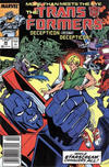 Cover for The Transformers (Marvel, 1984 series) #49 [Newsstand]