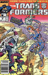 Cover for The Transformers (Marvel, 1984 series) #45 [Newsstand]