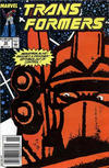 Cover for The Transformers (Marvel, 1984 series) #58 [Newsstand Edition]