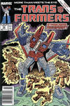 Cover for The Transformers (Marvel, 1984 series) #50 [Newsstand Edition]
