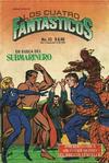Cover for Los Cuatro Fantasticos (Novedades, 1980 series) #23