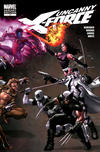 Cover for Uncanny X-Force (Marvel, 2010 series) #11 [Variant Edition]