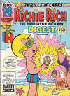 Cover for Richie Rich Digest Magazine (Harvey, 1986 series) #11 [Direct]