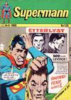 Cover for Supermann (Illustrerte Klassikere / Williams Forlag, 1969 series) #9/1969