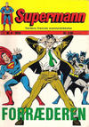 Cover for Supermann (Illustrerte Klassikere / Williams Forlag, 1969 series) #8/1970