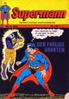 Cover for Supermann (Illustrerte Klassikere / Williams Forlag, 1969 series) #10/1970