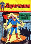 Cover for Supermann (Illustrerte Klassikere / Williams Forlag, 1969 series) #22/1970