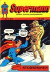 Cover for Supermann (Illustrerte Klassikere / Williams Forlag, 1969 series) #4/1972