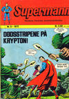 Cover for Supermann (Illustrerte Klassikere / Williams Forlag, 1969 series) #9/1972