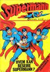 Cover for Supermann (Illustrerte Klassikere / Williams Forlag, 1969 series) #8/1975