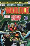 Cover for Strange Tales (Marvel, 1973 series) #179 [British]