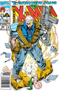 Cover for The Uncanny X-Men (Marvel, 1981 series) #294 [Direct Edition]
