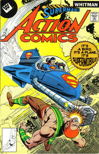 Cover Thumbnail for Action Comics (DC, 1938 series) #481 [Whitman]