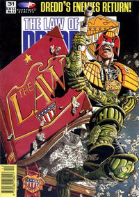 Cover Thumbnail for The Law of Dredd (Fleetway/Quality, 1988 series) #31