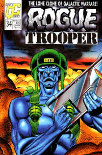 Cover Thumbnail for Rogue Trooper (Fleetway/Quality, 1987 series) #34