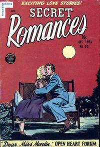 Cover Thumbnail for Secret Romances (Superior Publishers Limited, 1951 series) #23