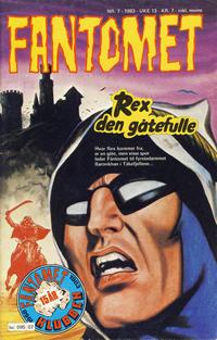 Cover Thumbnail for Fantomet (Semic, 1976 series) #7/1983