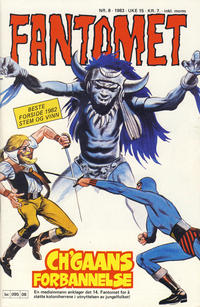 Cover Thumbnail for Fantomet (Semic, 1976 series) #8/1983