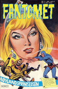 Cover Thumbnail for Fantomet (Semic, 1976 series) #11/1983