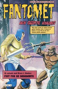 Cover Thumbnail for Fantomet (Semic, 1976 series) #10/1983