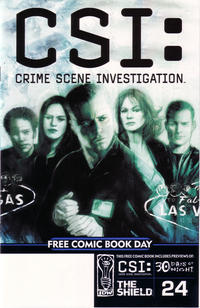 Cover Thumbnail for Free Comic Book Day [IDW Publishing] (IDW, 2004 series)  [CSI Cover]
