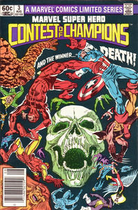 Cover Thumbnail for Marvel Super Hero Contest of Champions (Marvel, 1982 series) #3 [Newsstand]