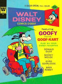 Cover Thumbnail for Walt Disney Comics Digest (Western, 1968 series) #43 [Whitman]