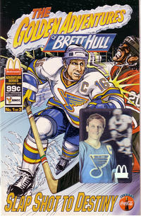 Cover Thumbnail for The Golden Adventures of Brett Hull (The Patrick Company, 1994 series) #1