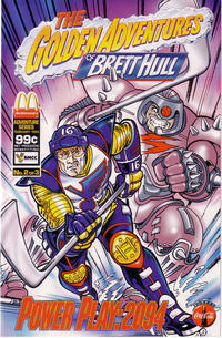 Cover Thumbnail for The Golden Adventures of Brett Hull (The Patrick Company, 1994 series) #2