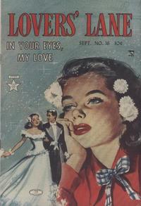 Cover Thumbnail for Lovers' Lane (Lev Gleason, 1949 series) #16